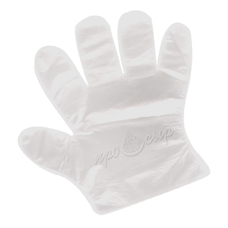 Перчатки одноразовые (среднего размера)
